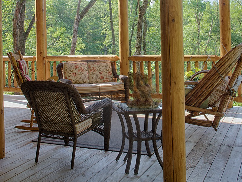 Mountain Laurel Porches