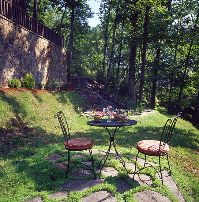 Katahdin Sebec Terrace Patio