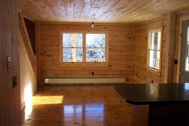The Homestead Log Cabin from Coventry Log Homes, Inc.