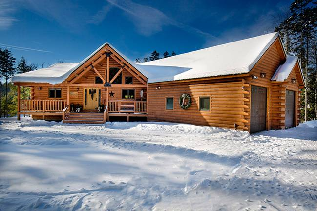 The Jackson Log Home from Coventry Log Homes, Inc.