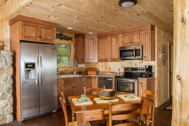 Oak Ridge Log Home Floor Plan from Coventry Log Homes